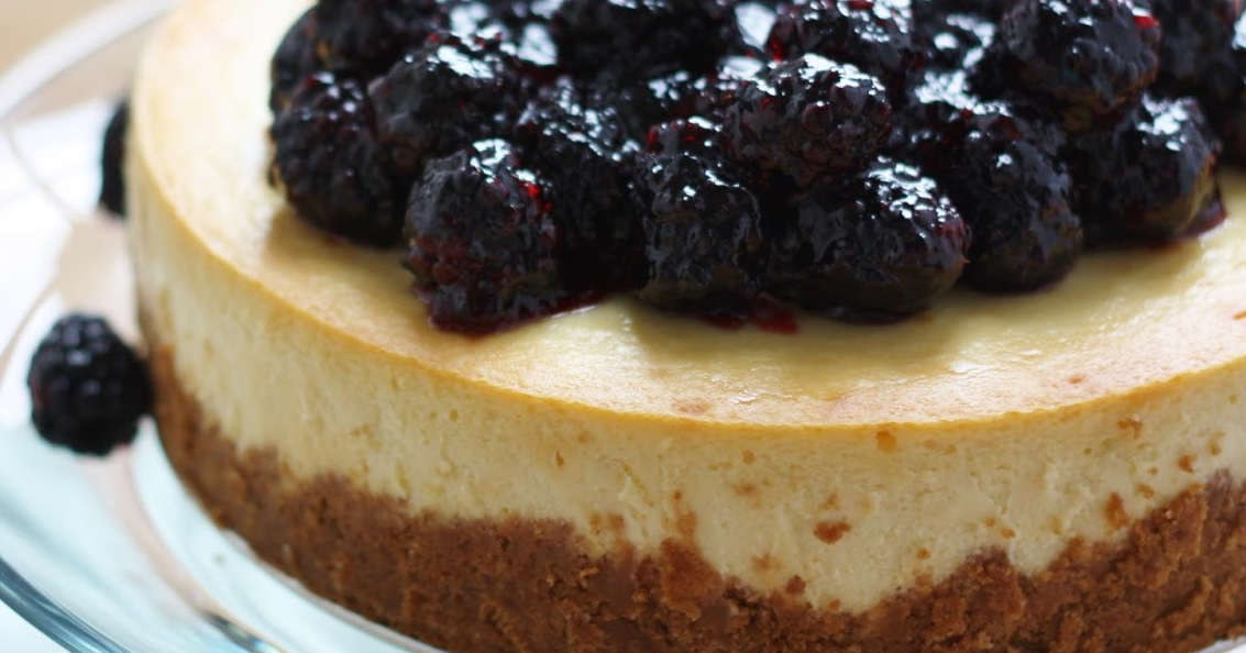 blackberrie cheese cake